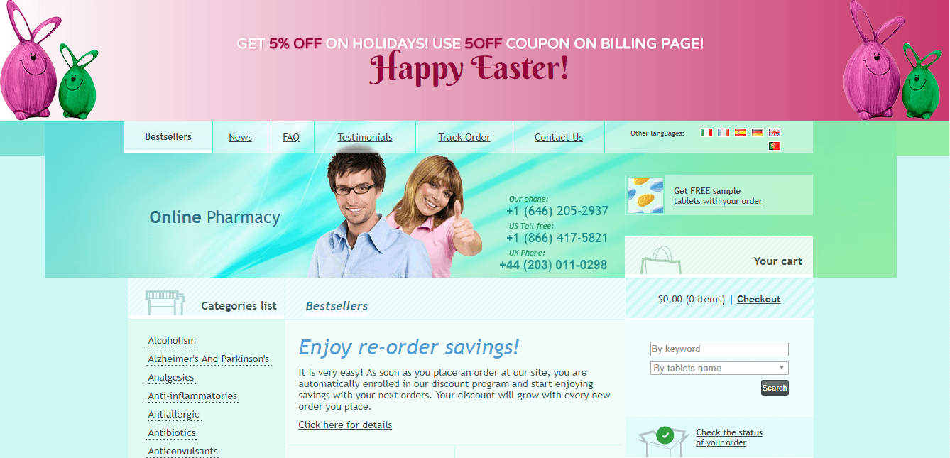 Overview of Cheap Rx Medication new website